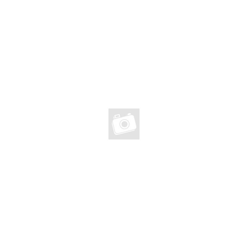 3,5 - 3,5 mm jack audio kábel 1 m-es lapos vezetékkel - kék/fehér (ECO csomagolás)